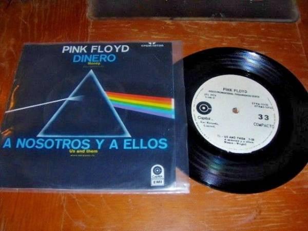 PINK FLOYD Dinero   Money 1973 MEXICO 33rpm 7  PROMO EP EX EX Prog