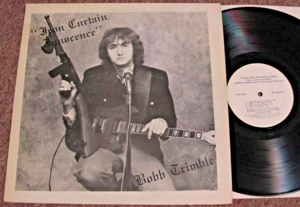 BOBB TRIMBLE Iron Curtain Innocence ORIG Vengeance PRIVATE OUTSIDER PSYCH LP