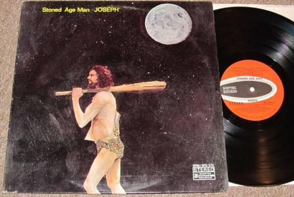 JOSEPH Stoned Age Man ORIG 1970 TX HARD HEAVY WILD BLUES PSYCH LP ACID ARCHIVES