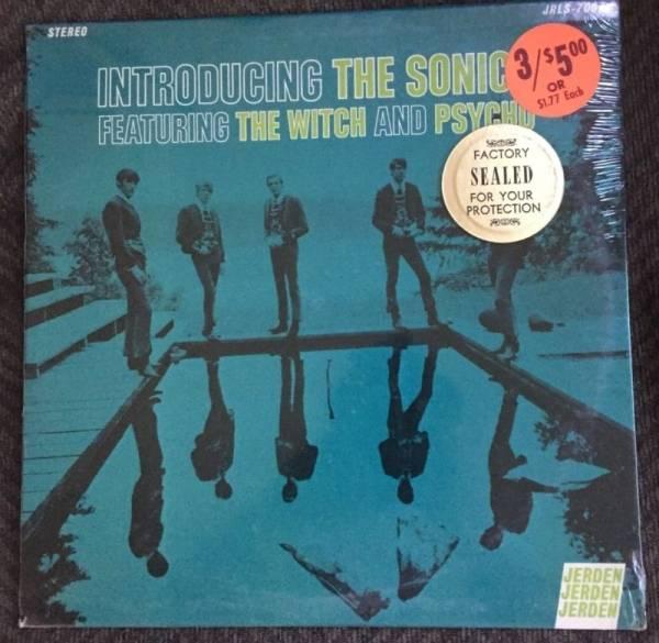 Introducing The Sonics  LP 1967 original Jerden SEALED garage punk psych
