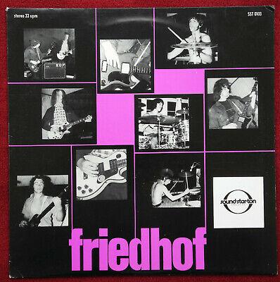 FRIEDHOF   Same   Orig  German first private press  LP 1971   M
