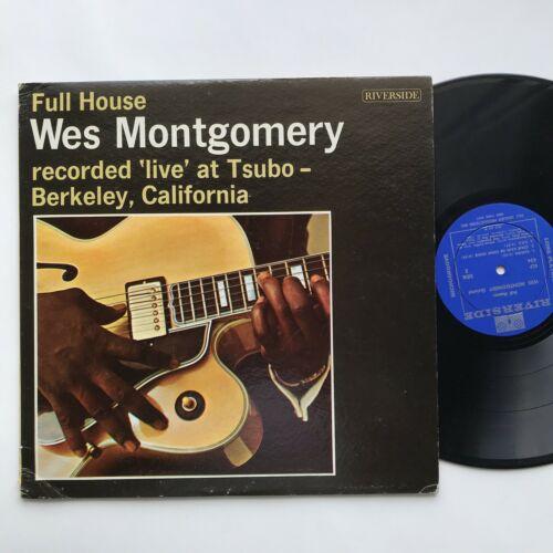 Wes Montgomery Full House Riverside RLP 434 DG Jazz Vinyl LP Johnny Griffin