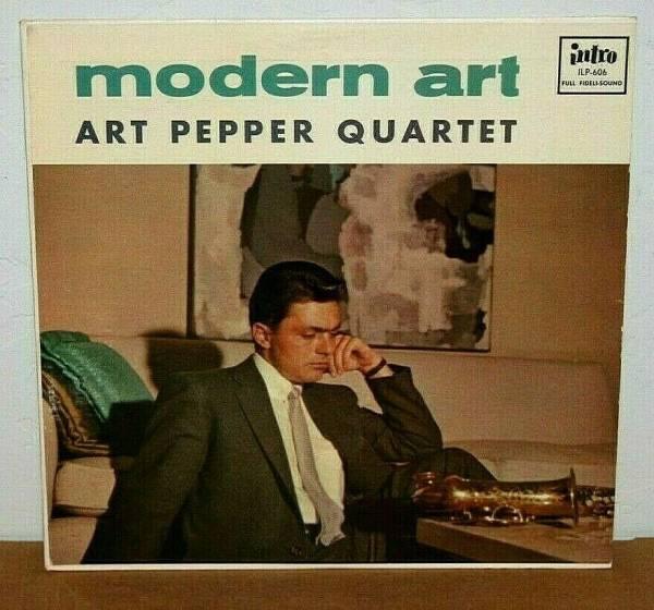 INTRO 606 LP HOLY GRAIL   Art Pepper Modern Art Strong 1st  Flat DG  Rare 1957