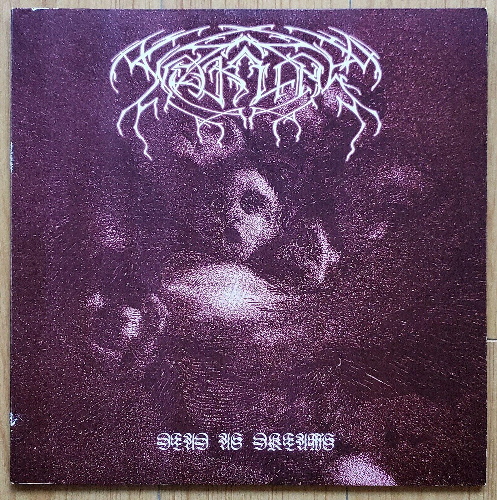 WEAKLING   Dead As Dreams LP 2000 tUMULt   RARE US BLACK METAL Orig NEAR MINT