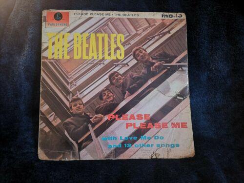 The Beatles Please Please Me 1963 Mono LP black gold Parlophone PCS 3042 1st