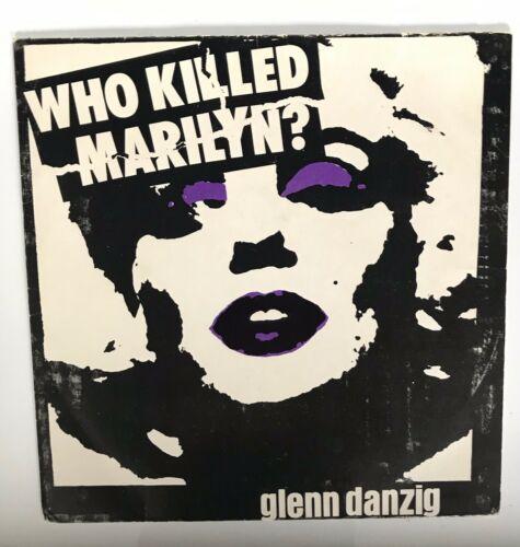The Misfits   Glenn Danzig   Who Killed Marilyn 7    Purple Vinyl 500 Pressed