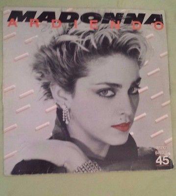 MADONNA Ardiendo Burning Up 1983 SPAIN 12  MAXI SINGLE LP