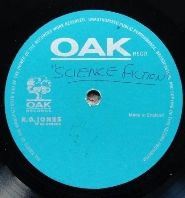 Unknown 7        Oak label acetate EP UK 1968 psych Science Fiction   3 HEAR