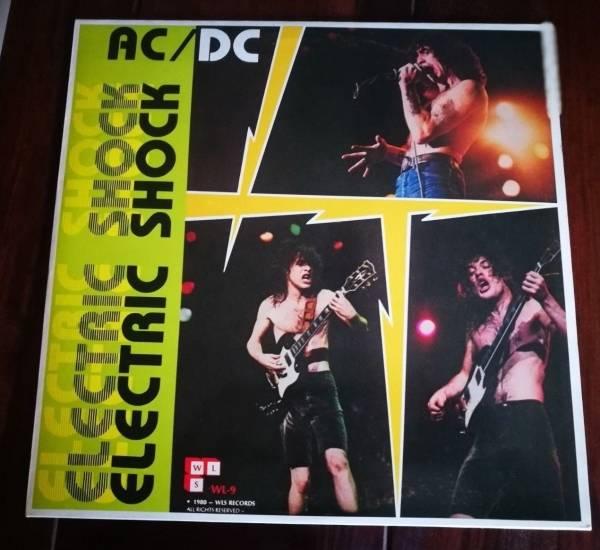 ACDC Electric Shock Rotes Vinyl Doppelalbum von 1985 Live 19761979 MEGARAR