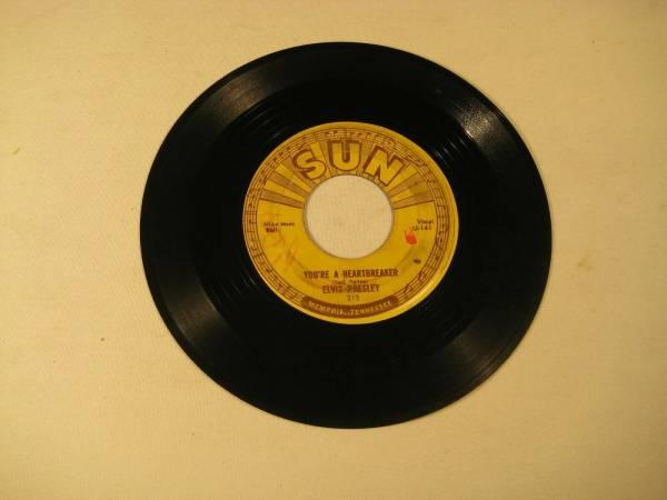 Elvis Presley Mikcow Blues Boogie  Sun 45rpm  215 original