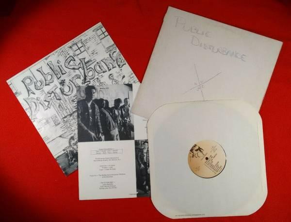 Public Disturbance s t original LP NM on Mutha Records 1983 hardcore RARE