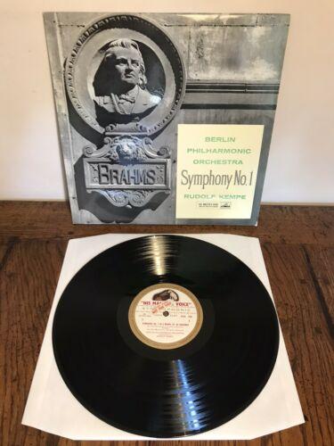 Asd 350 Brahms Symphony No 1 Rudolf Kempe Mint Factory Sample LP