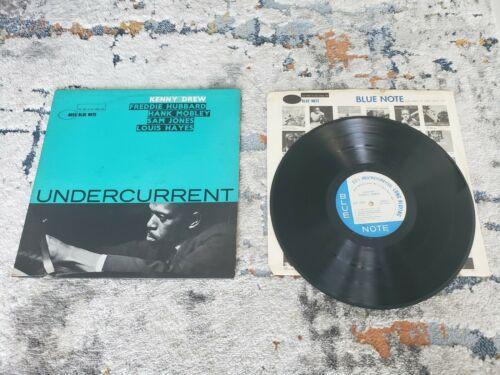 KENNY DREW Undercurrent  HANK MOBLEY BLUE NOTE JAZZ LP VERY RARE
