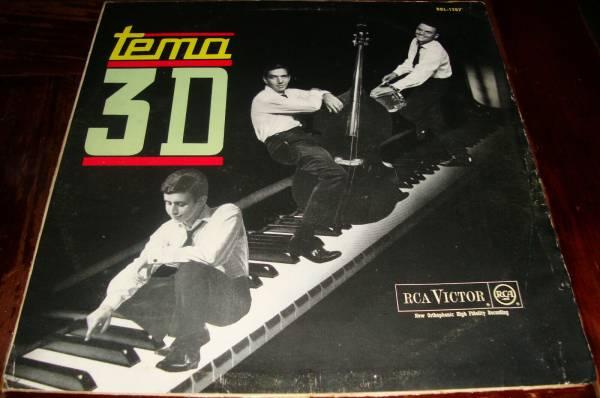 Trio 3D Tema 3 D Rca Victor BBL 1287 Year 1964 DG Mono Antonio Adolfo Bossa Jazz