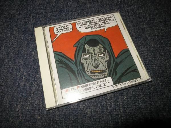 MF DOOM Metal Fingers Presents Special Herbs Vol 1   2 CD RARE OG PRESSING