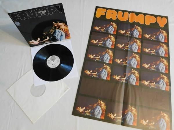FRUMPY   BY THE WAY   VERTIGO SWIRL 1972   RARE POSTER GERMAN KRAUTROCK MINT