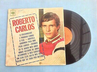 ROBERTO CARLOS 1966 SELF TITLED VERY RARE MEXICAN LP BRAZILIAN POP   GARAGE ROCK