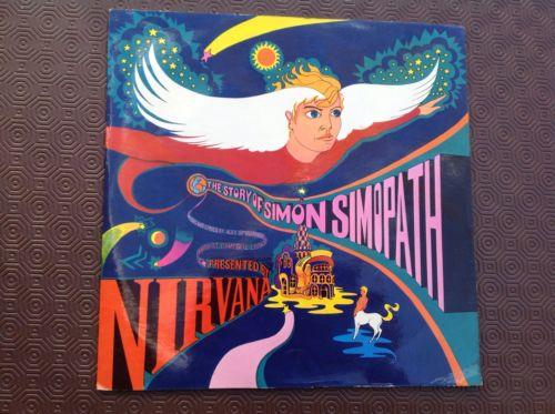 NIRVANA  The Story Of Simon Simopath  Island Gatefold Pink Label LP