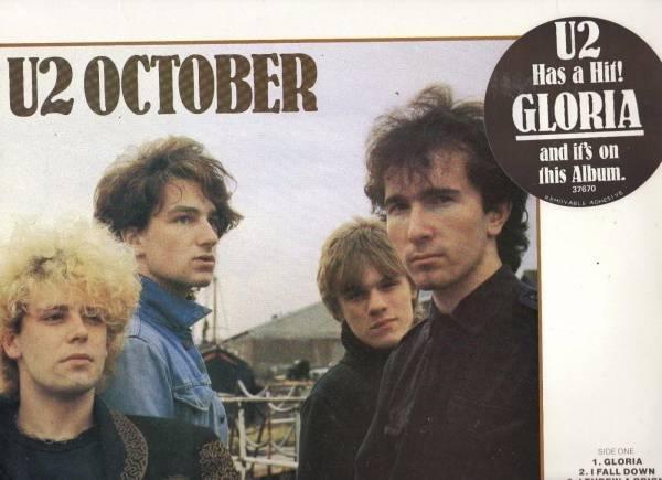 U2    OCTOBER     AUST  LP