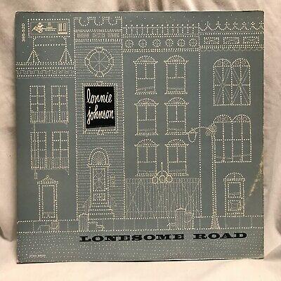 LONNIE JOHNSON   Lonesome Road  RARE 1958 Blues LP on KING  Black DG label  EX