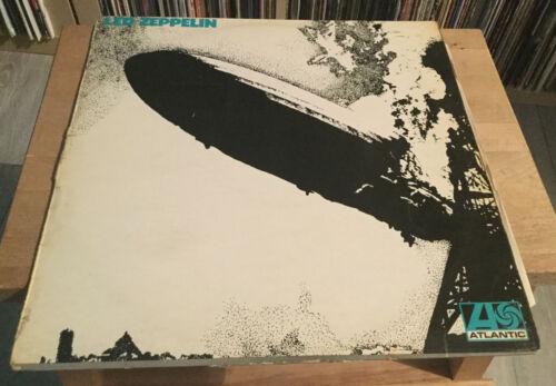 LED ZEPPELIN   Led Zeppelin  UK Atlantic LP  Turquoise 1st Press  Superhype