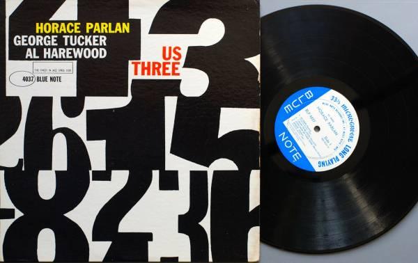 Horace Parlan   Us three   LP Blue Note BLP 4037   VG   NM   US 1960