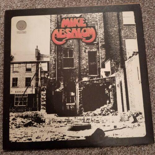 Mike Absalom self titled 1971 UK Folk LP Vertigo 6360053   rare signed comic