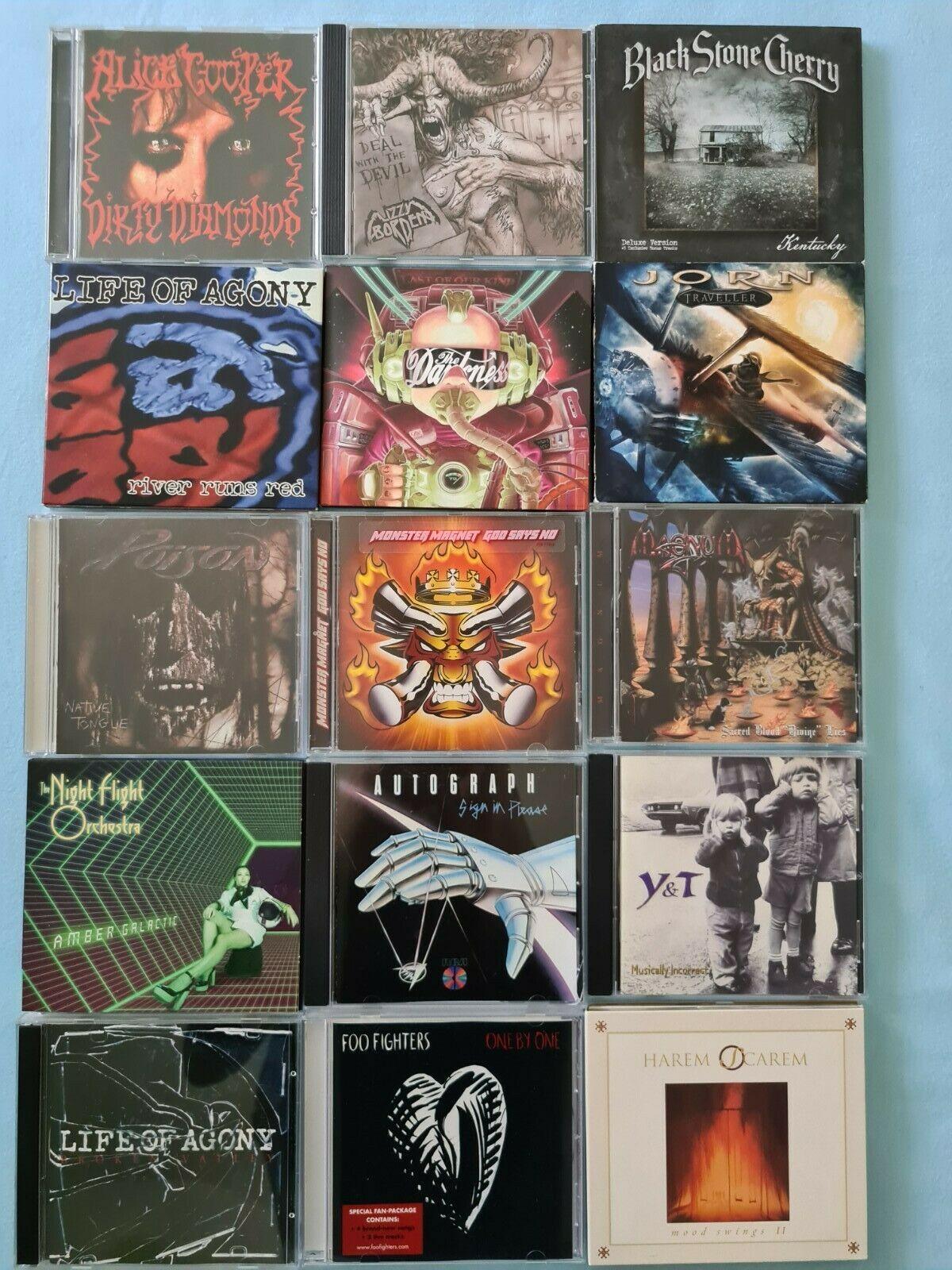 Heavy Metal   Hardrock CD Sammlung   ber 70 CDs Top und selten