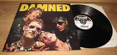 The Damned 1977 UK Stiff LP Erratum sticker mispress