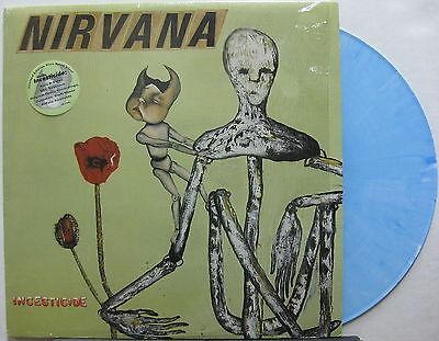 NIRVANA Incesticide 1992 US ORG Blue Swirl VINYL LP Shrink  KURT COBAIN Minty