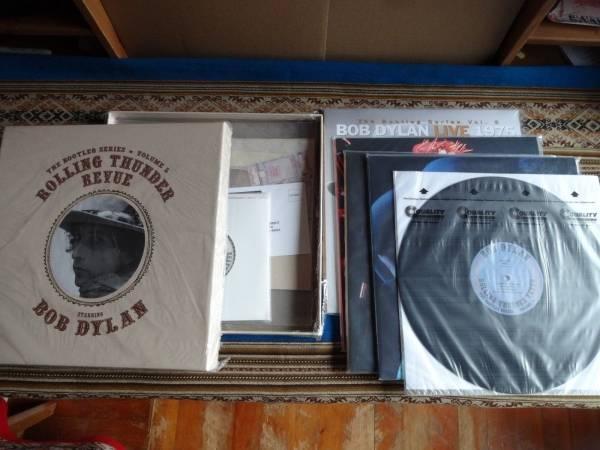 Bob Dylan LIVE 1975 Rolling Thunder 5 2003 Original 3LP BOX  45 plays 99   MINT