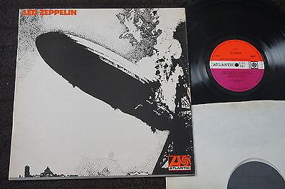 Led Zeppelin   I 1  Plum Atlantic UK LP 1969  A1  B4 Grey Strip  Blues Psych