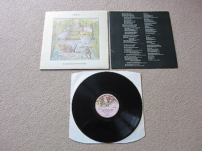 GENESIS SELLING ENGLAND BY THE POUND 1st UK LP 1973 PROG ROCK A 1U B 2U   INNER