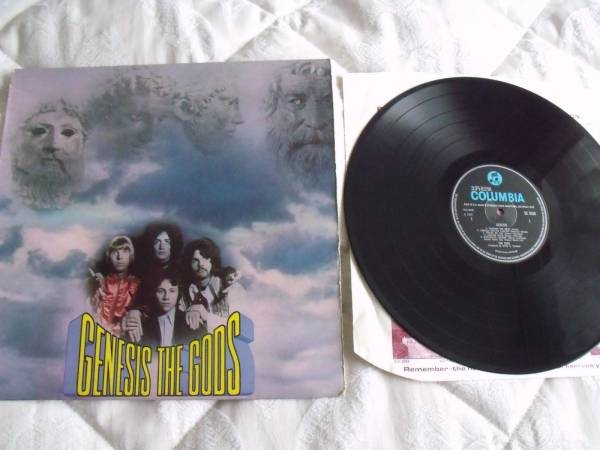 THE GODS   GENESIS LP VINYL SX 6286 1ST PRESS MONO PSYCH EX VINYL 1G 1G 1968