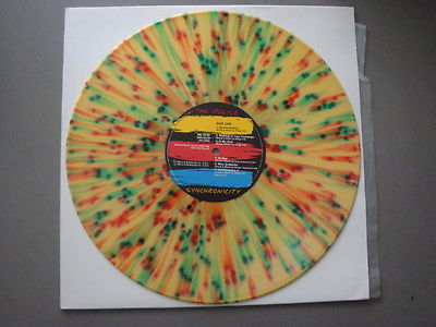 THE POLICESYNCHRONICITY OZ 83 MEGA RARE ONE OFF PRESSINGMULTI COLOR VINYLLP