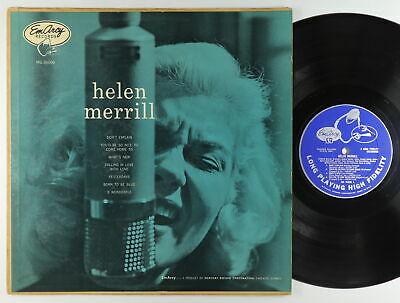 Helen Merrill   S T LP   EmArcy   MG 36006 Mono DG