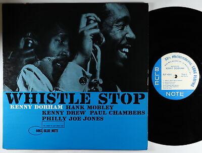 Kenny Dorham   Whistle Stop LP   Blue Note   BLP 4063 Mono RVG Ear 47 W 63rd VG