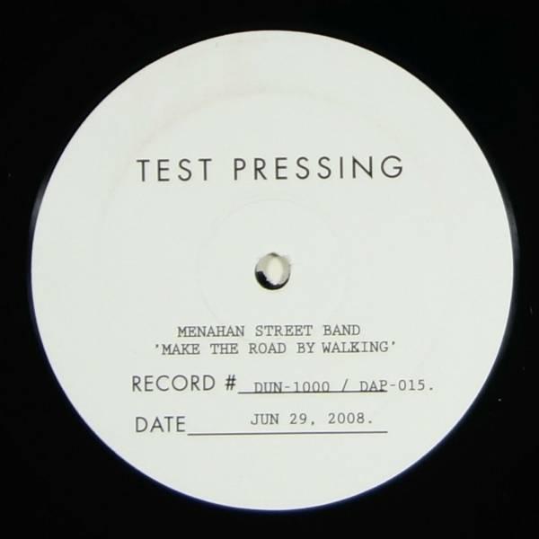 Menahan Street Band   Make The Road By Walking LP RARE PROMO TEST PRESSING