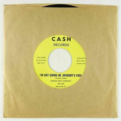 Sweet Soul 45   Harlem Meat Company   I m Not Gonna Be   Cash VG   slow version