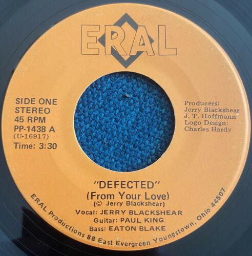 JERRY BLACKSHEAR   Defected 45 7    ERAL Ohio Modern Soul Funk Disco MONSTER GRAIL