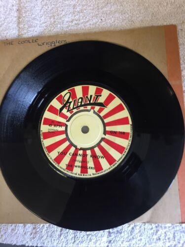The Wrigglers The Cooler You Cannot Know 7    Vinyl Original 1968 Rare Ska Reggae