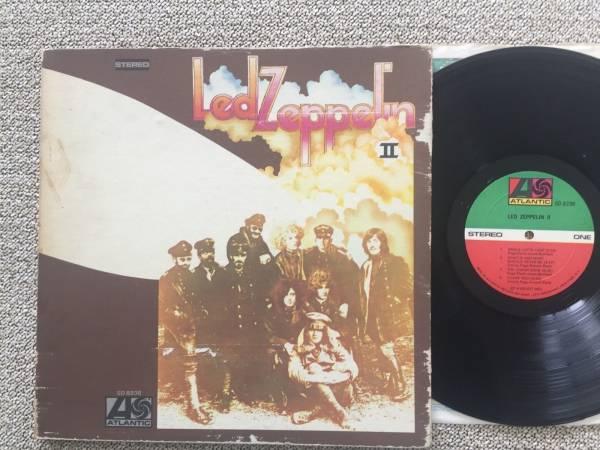 LED ZEPPELIN II ATLANTIC SD 8236 ORIGINAL 1969 RL SS ROBERT LUDWIG PRESSING LP