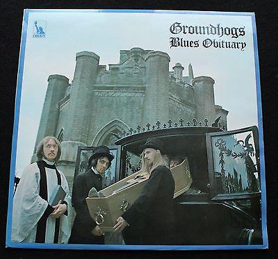 GROUNDHOGS Blues Obituary UK Liberty 1969 1st pressing Psych LP  MINT