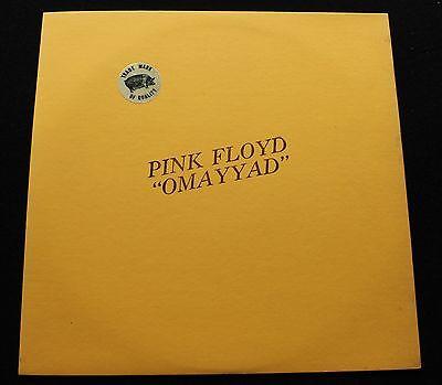 PINK FLOYD Omayyad US orig TMOQ Blue Vinyl INSERT  MINT   psych
