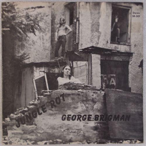 GEORGE BRIGMAN  Jungle Rot         75 Baltimore Garage Psych Holy Grail Vinyl LP