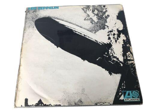 Led Zeppelin 1st Press LP   Turquoise Lettering