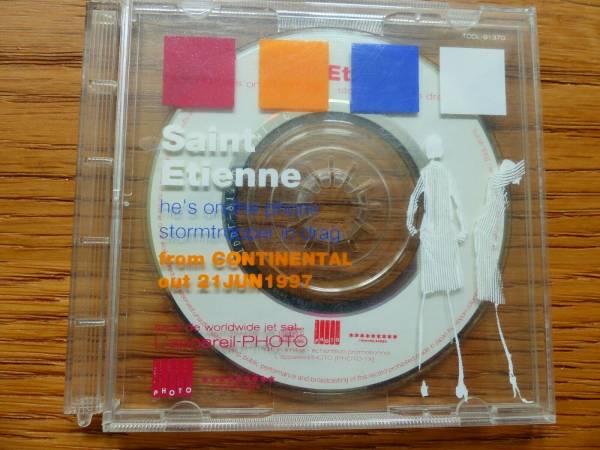 ULTRA RARE  SAINT ETIENNE  HE S ON THE PHONE  3  CD PROMO SINGLE LTD EDITION