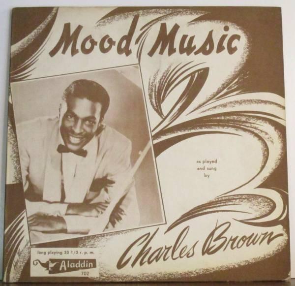 Charles Brown  Mood Music  red vinyl Aladdin 702 10  Lp