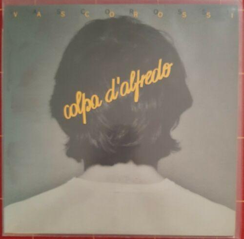 Vasco Rossi Colpa D alfredo Lp Prima Stampa Targa 1980 tal 1401