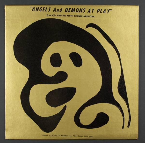 SUN RA Angels And Demons At Play LP Saturn 9956 2 Rare Cosmic Jazz Original M